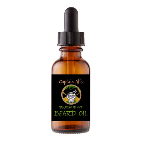 Captain Al's JAMAICAN MI NICE Beard Oil