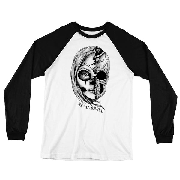Half Breed Long Sleeve Baseball T-Shirt