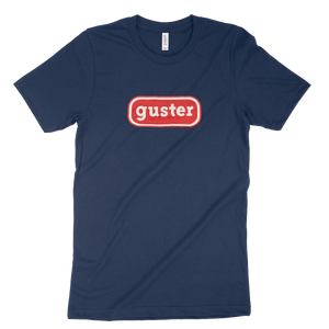 Classic Oval Tee (Navy w/ Red Oval)