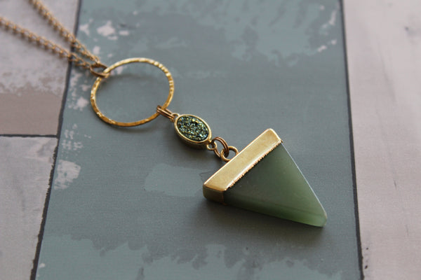 Green Lovers Necklace