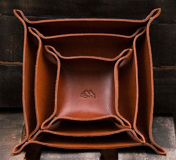 Anniversary Gift: Valet Leather Trays