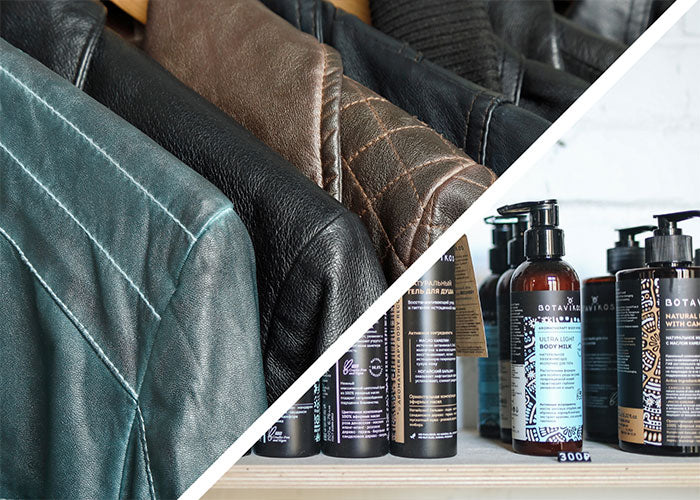 Treat your jacket with wax and conditioner