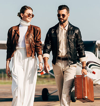 Shop Premium Leather Jackets and Bags
