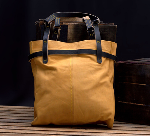 Birir Carryall Extra Large Soft Leather Tote Bag
