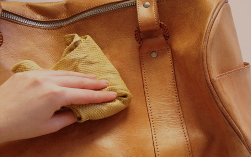 How to take care of a leather duffle bag