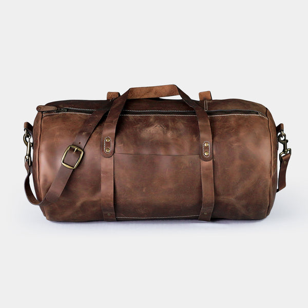 Shangrila Dark Brown Vintage Duffle