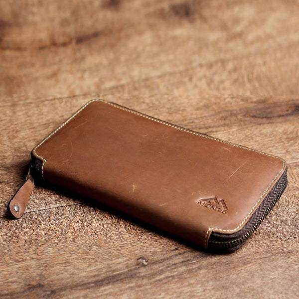 Baltit Classic Leather Passport Wallet