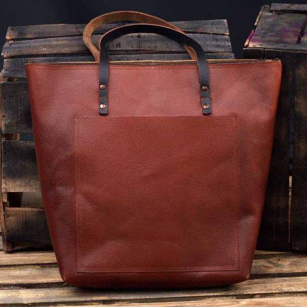 Gulmit Everyday Leather Laptop Tote