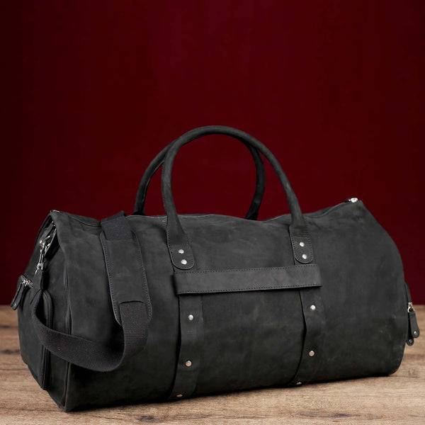 Haramosh Men's Leather Weekend Bag