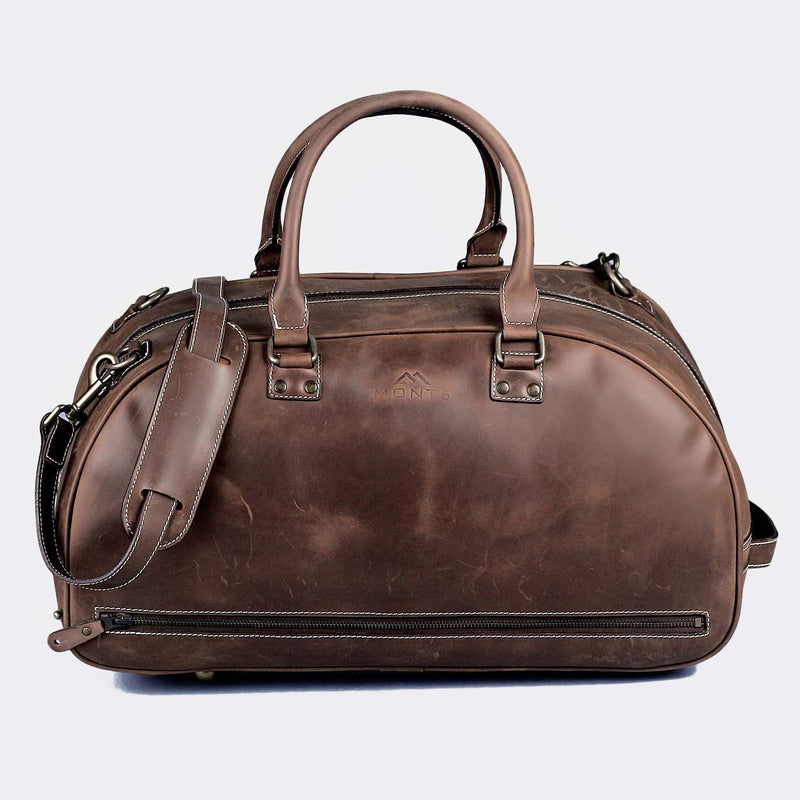 Hunza Men's Leather Weekend Bag