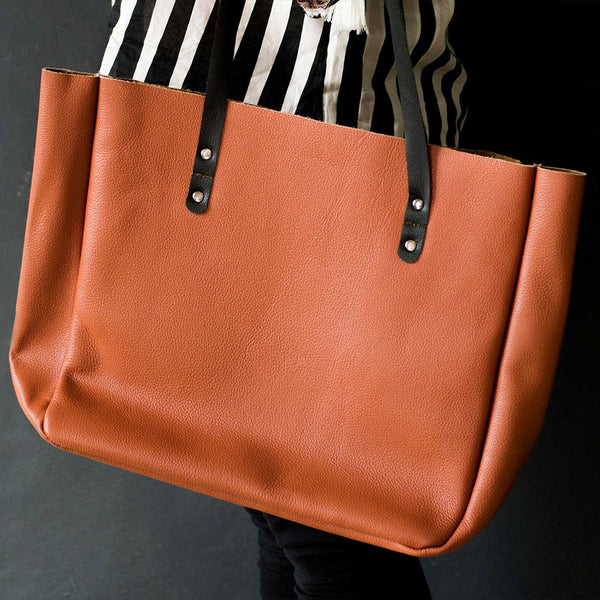 Kel Tan Large Leather Tote