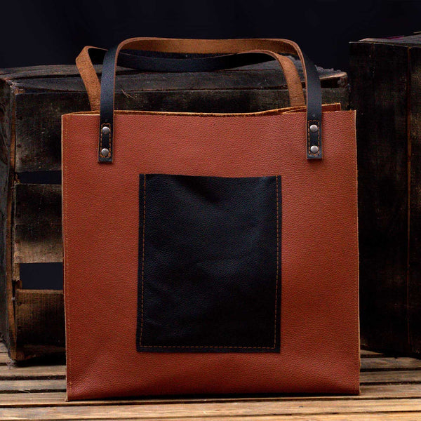 Marala Handcrafted Brown Leather Purse