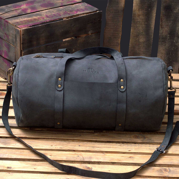 Shangrila Men's Leather Travel Bag