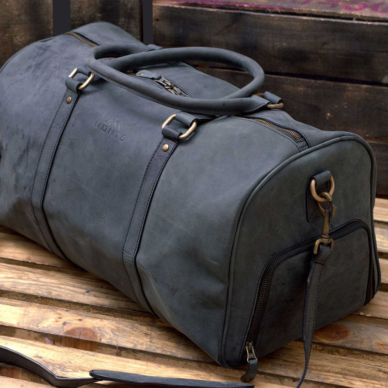 Shigar Sports Leather Gym Bag