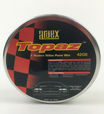 2021 Past Wax - Ardex Topaz Wax - w/Hybrid Sealants and UV Protection