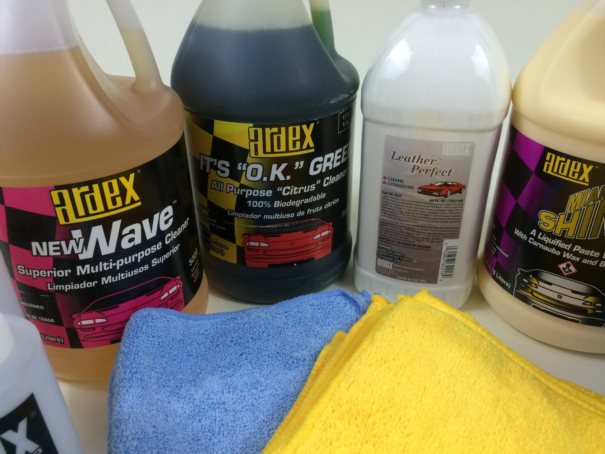 Professional Car Detailing Supplies >> Car Detailing Pro Kit With Leather Cleaner Conditioner