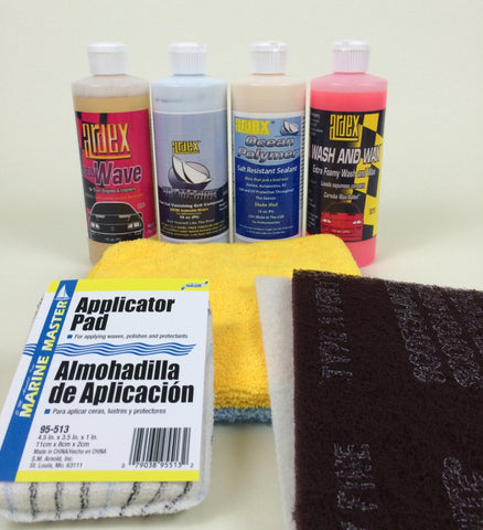 Boat Detailing Kit 16oz For Smaller Boats, RVs and PWCs