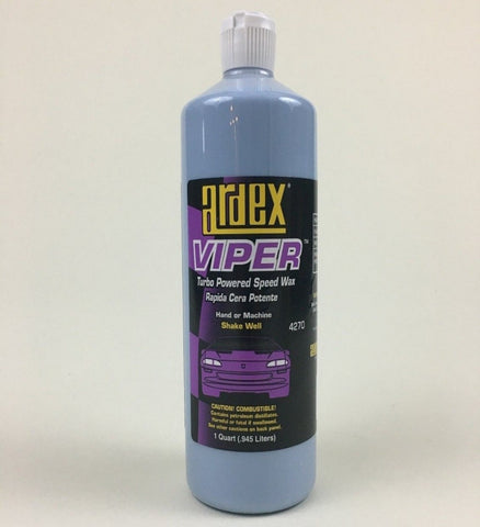 Speed Wax - Ardex Viper Wax 4270 - For Cars, Boats, Motorcycles and RVs
