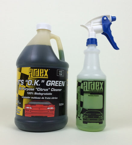 Ardex - It's OK Green 5204 All Purpose Cleaner-Degreaser Concentrate