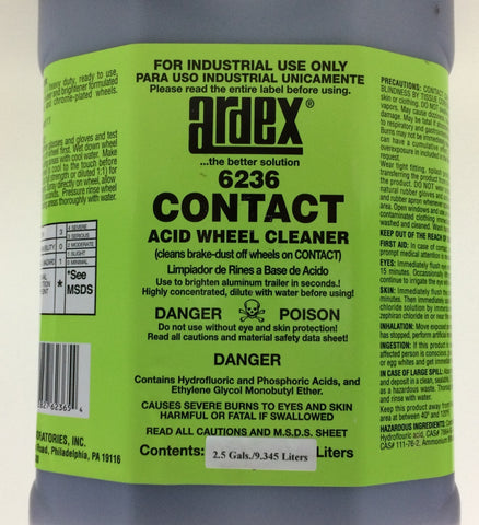 Ardex Contact - Acid Wheel and Aluminum  Cleaner 6236