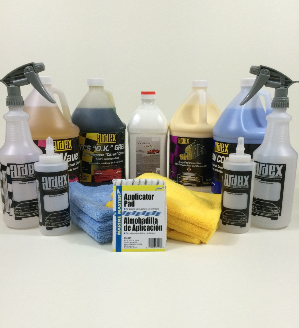 Professional car interior detailing products for Professional car interior detailing kit