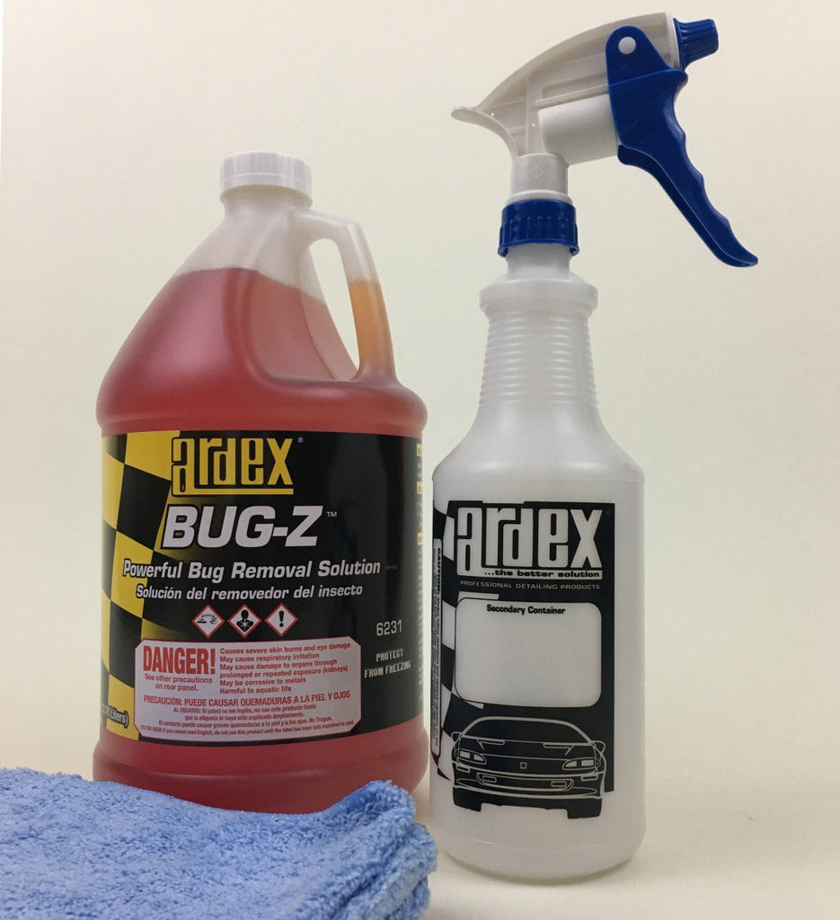 car truck rv bug remover ardex bug-z