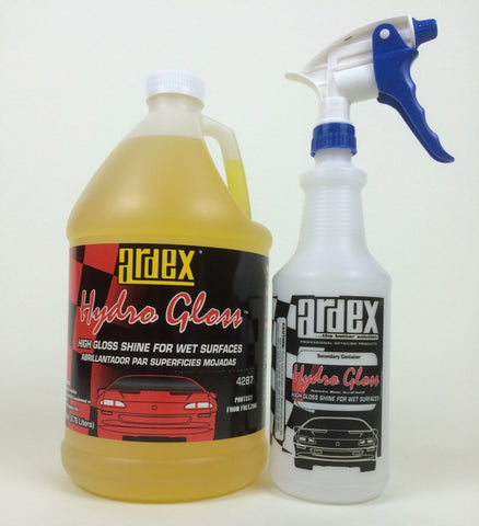 Ardex Hydro Gloss Gal. - Car Detailing, Protective, One Step Clean and Shine Wet or Dry