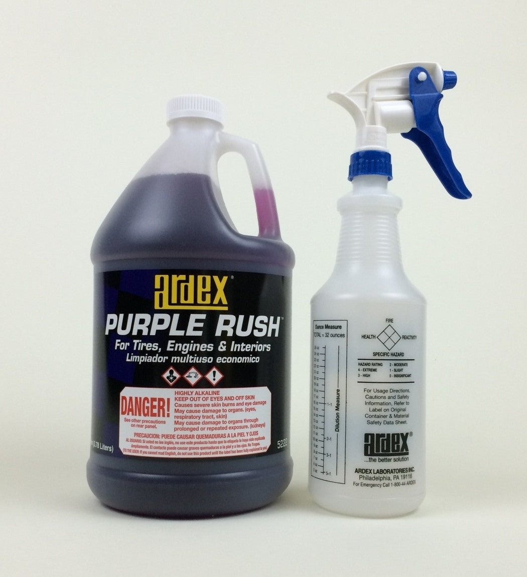 Ardex Purple Rush 5222 Heavy Duty Multi Purpose Cleaner Degreaser Conc Ardex Automotive And