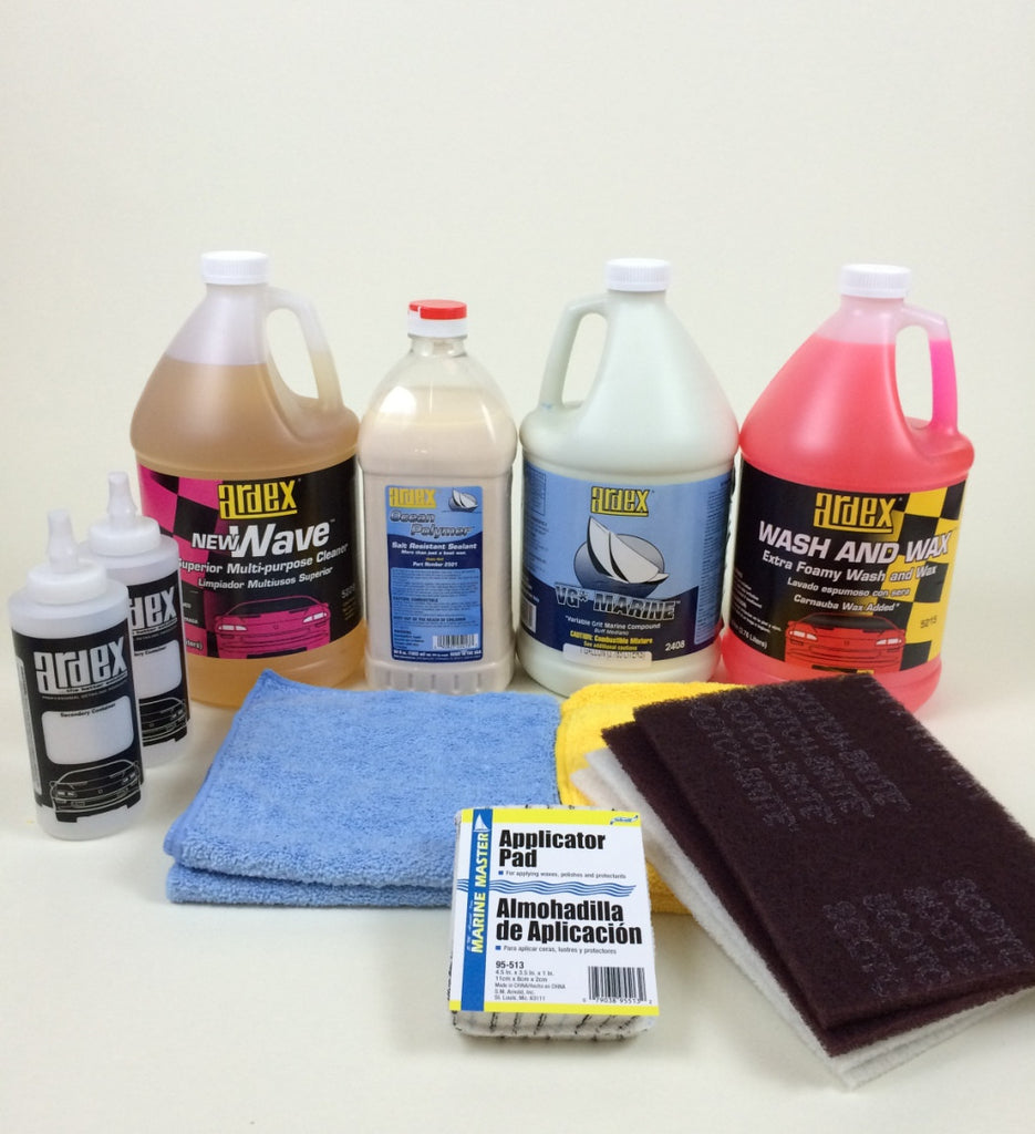 Boat Detailing Pro Pack, For Large Boats, Yachts and RVs