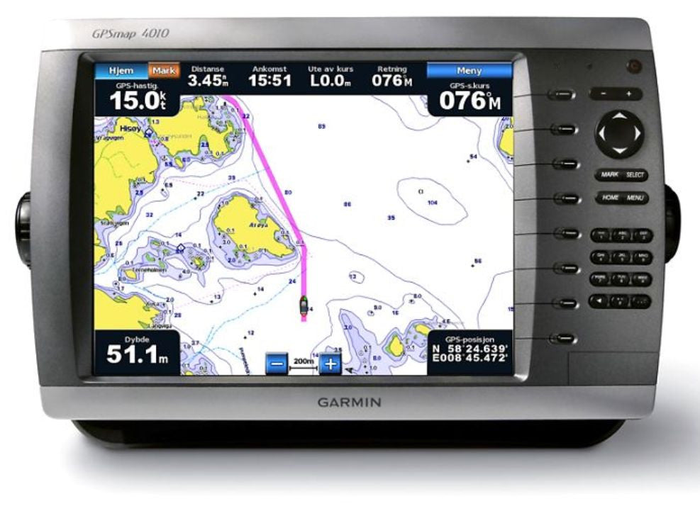 "Garmin GPSMAP 4010, 10"" MFD, w/Basemap / Call For Availability"