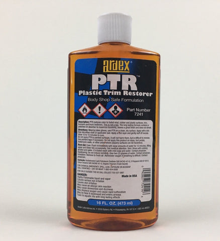 Plastic Trim Restorer, Ardex PTR, Body Shop Safe Formulation