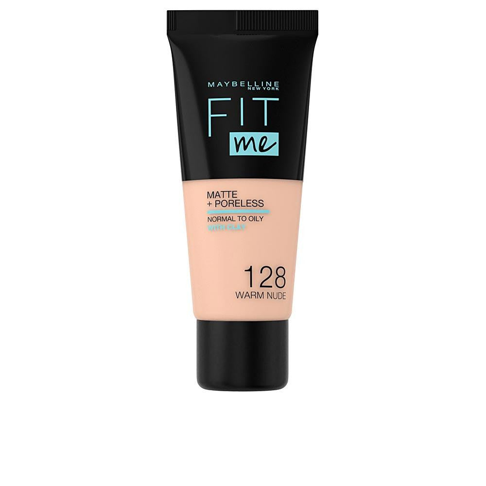 FIT ME MATTEPORELESS foundation 128 warm nude