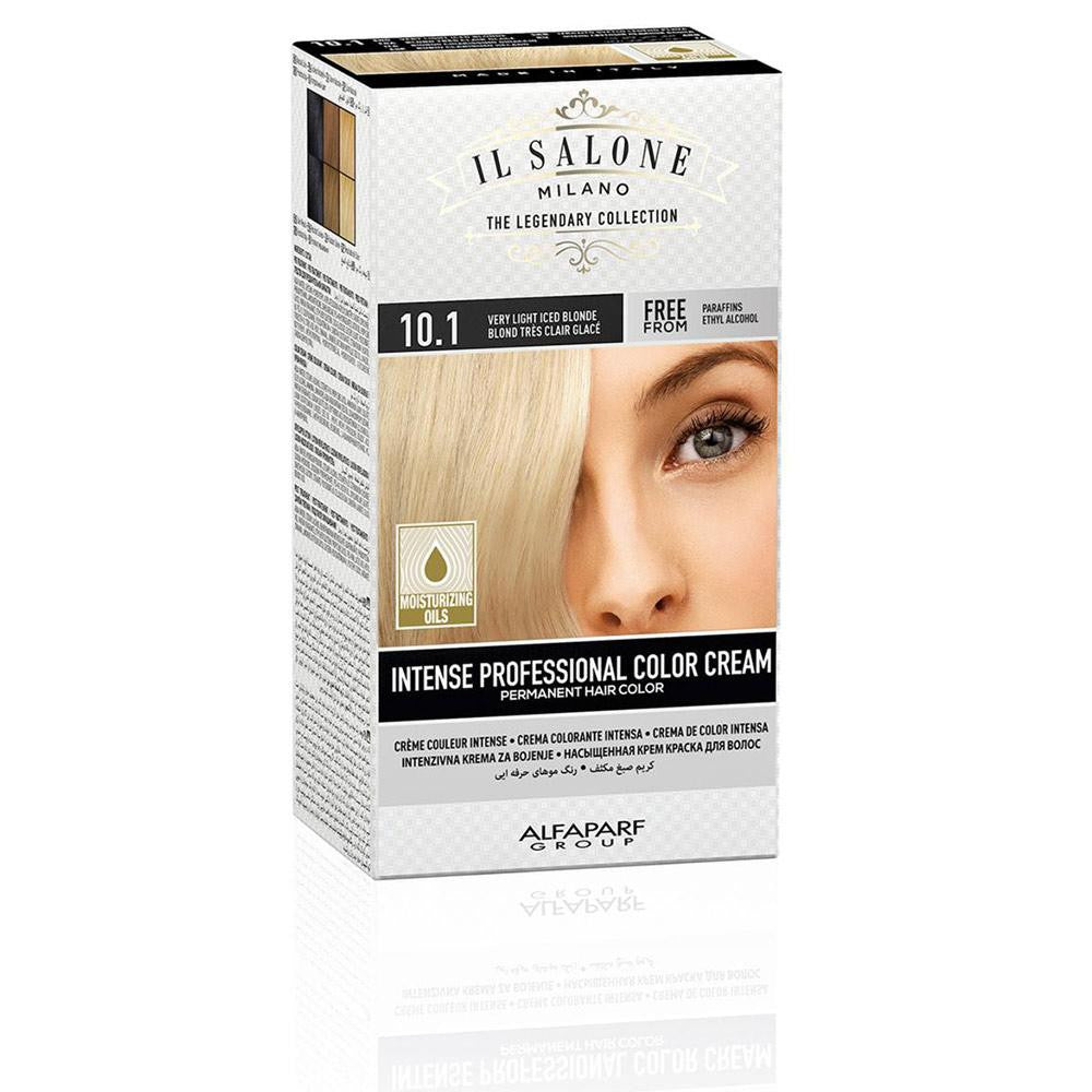 INTENSE PROFESSIONAL COLOR CREAM permanent hair color 101