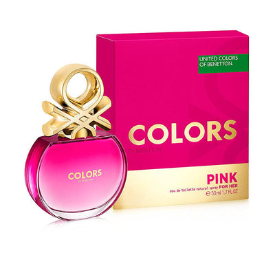 COLORS PINK edt vaporizador 50 ml