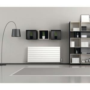 Purmo Slieve Horizontal Single Panel Designer Radiator Single Convector White 578x1000mm