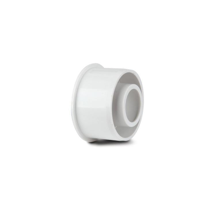 Polypipe Overflow ABS Solvent Weld Reducer White 32 x 21.5 mm S415W
