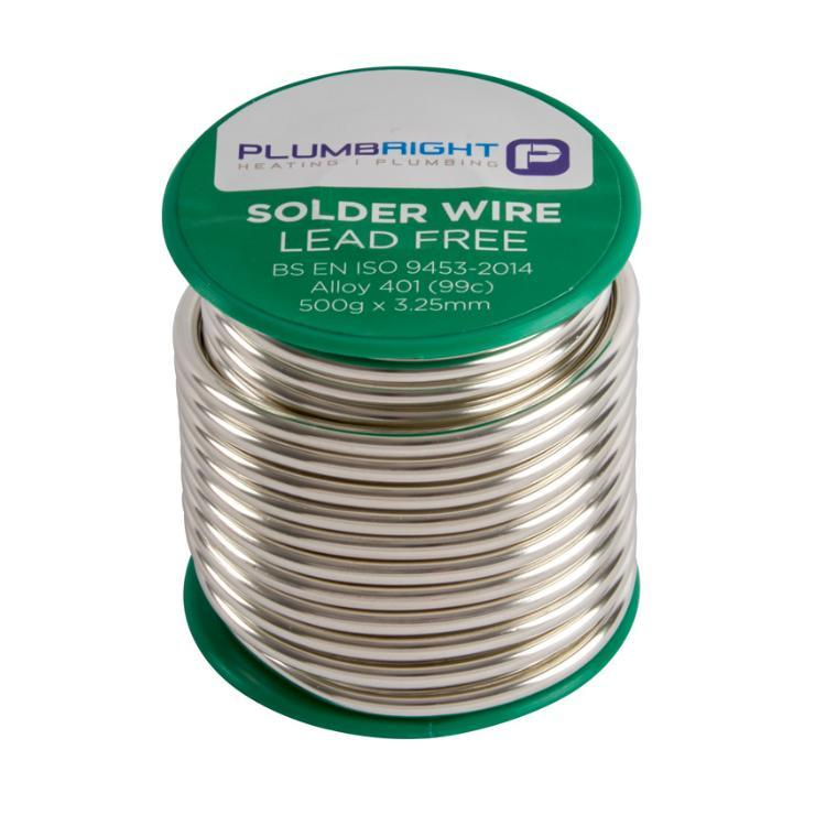Plumbright Lead Free Solder Wire 500g