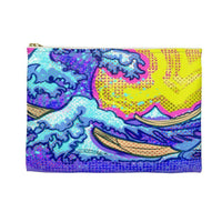 The Great Wave Accessory Pouch - Bags