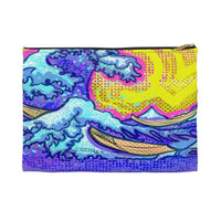 The Great Wave Accessory Pouch - Small / Black - Bags
