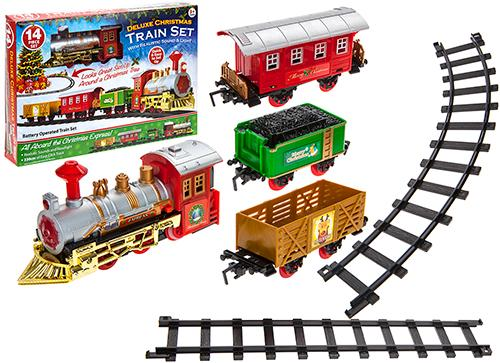 Deluxe Christmas Train Set