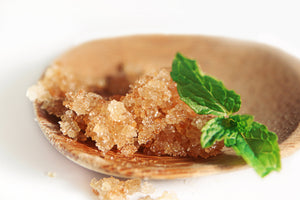 All Natural Mint Sugar Scrub