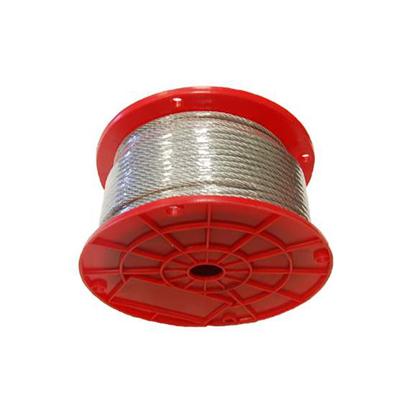 7X7 Aircraft Cable Wire Rope Hot Dip Galvanized 3/16