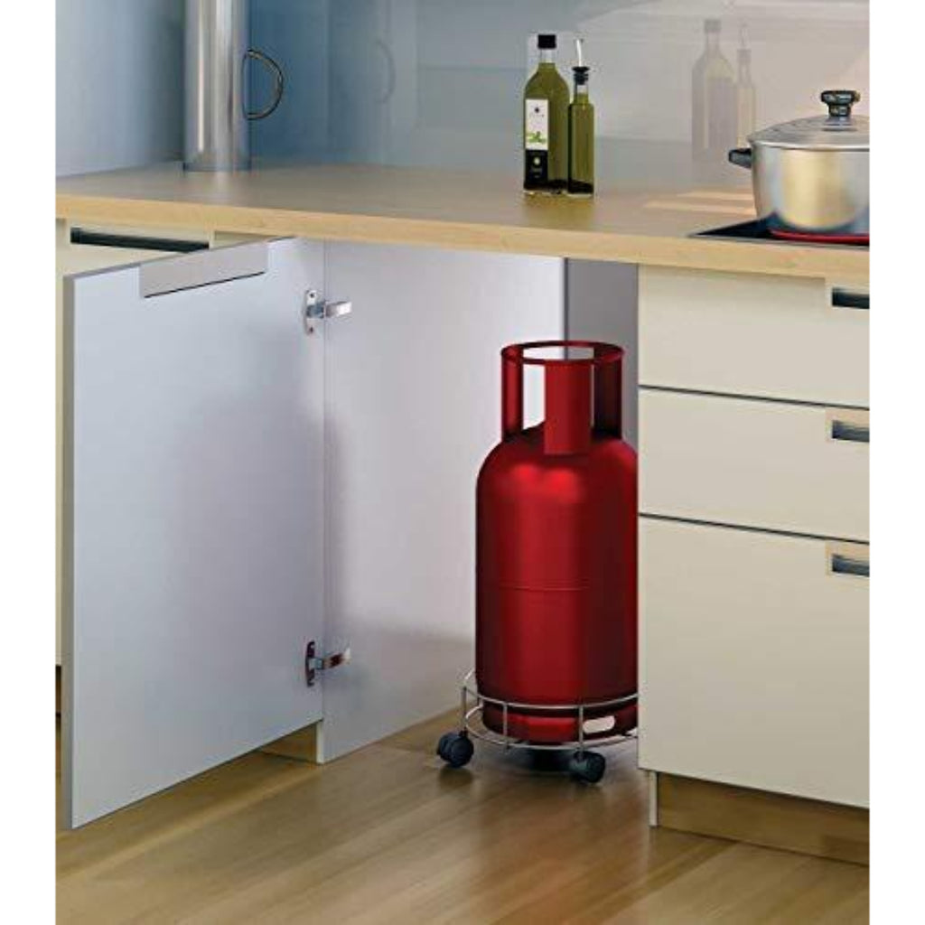 Generic Stainless Steel Gas Cylinder Trolley