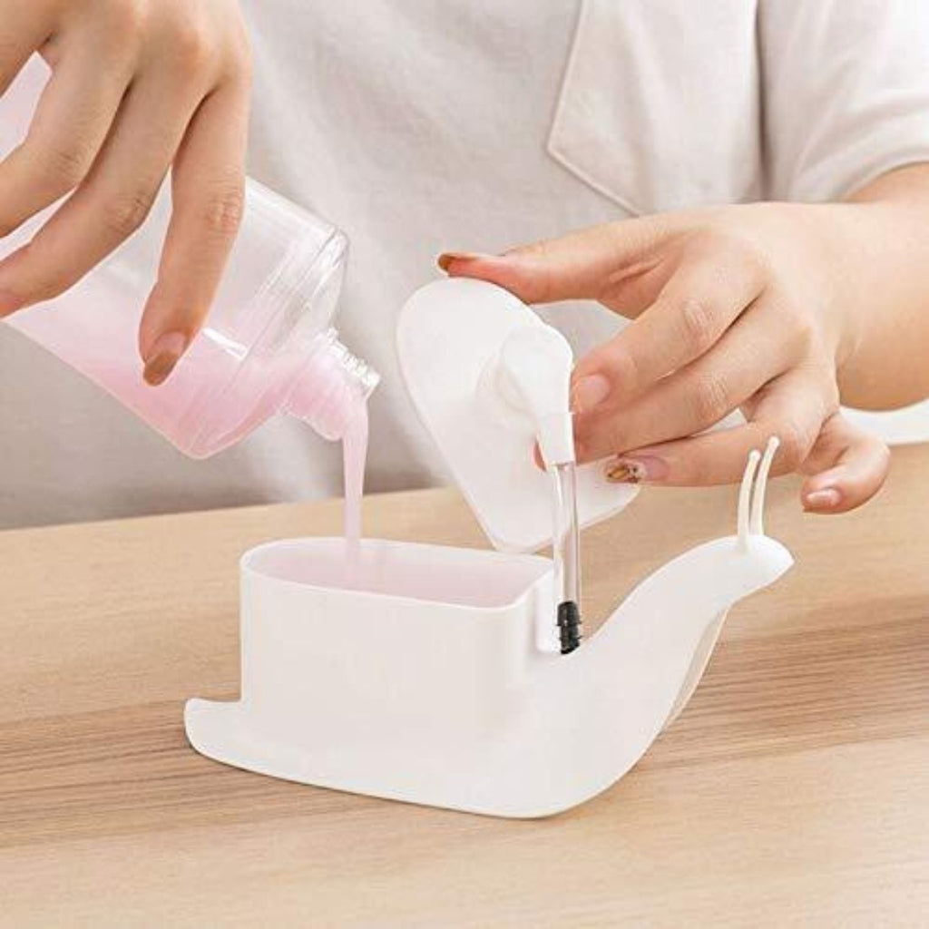 Generic Portable Snail Shape Liquid Soap Dispenser