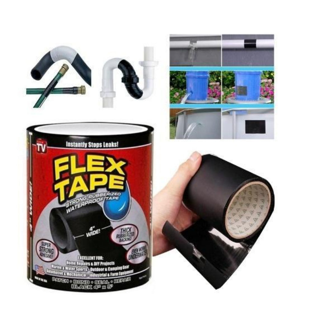 Generic Strong Rubberized Waterproof Flex Tape Instantly Stops (Color: Assorted)