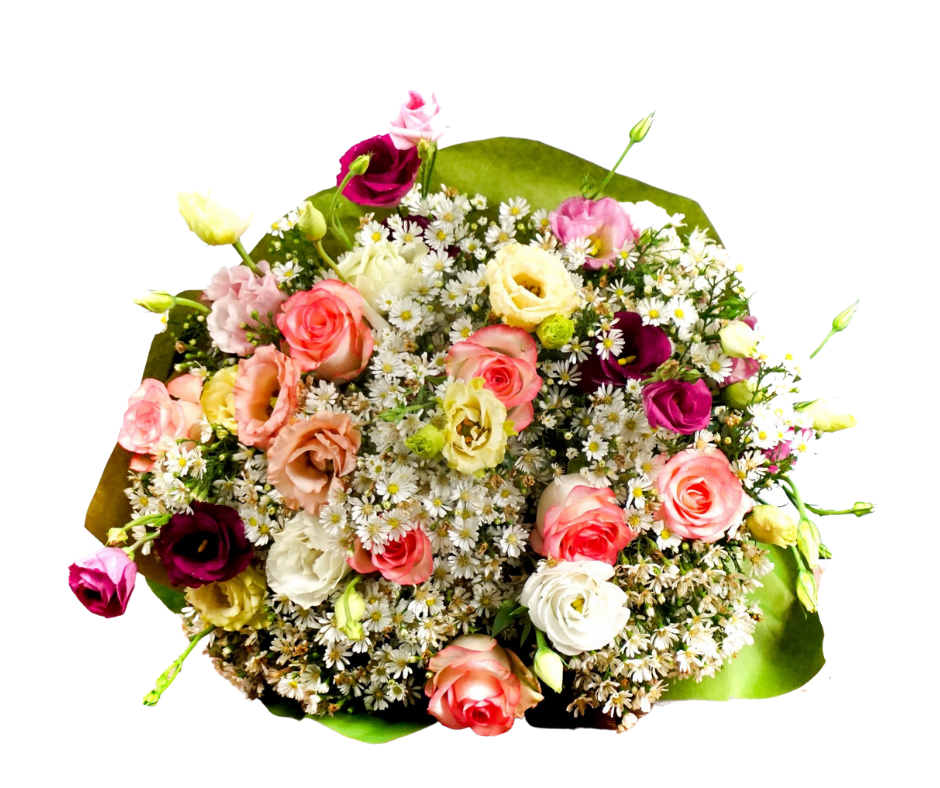 Bouquet di Rose e Lisianthus - Monique