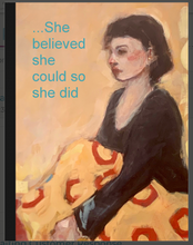 Load image into Gallery viewer, Journal- She Believed She Could