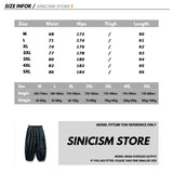 Sinicism Store Men Solid Summer Casual Harem Pants Mens 2020 Black Breathable Trousers Male Oversize Chinese Style Pants Clothes