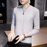 New Wool Sweater Men Autumn Fashion Long Sleeve Knitted Men Cotton Sweater High Quality Clothes