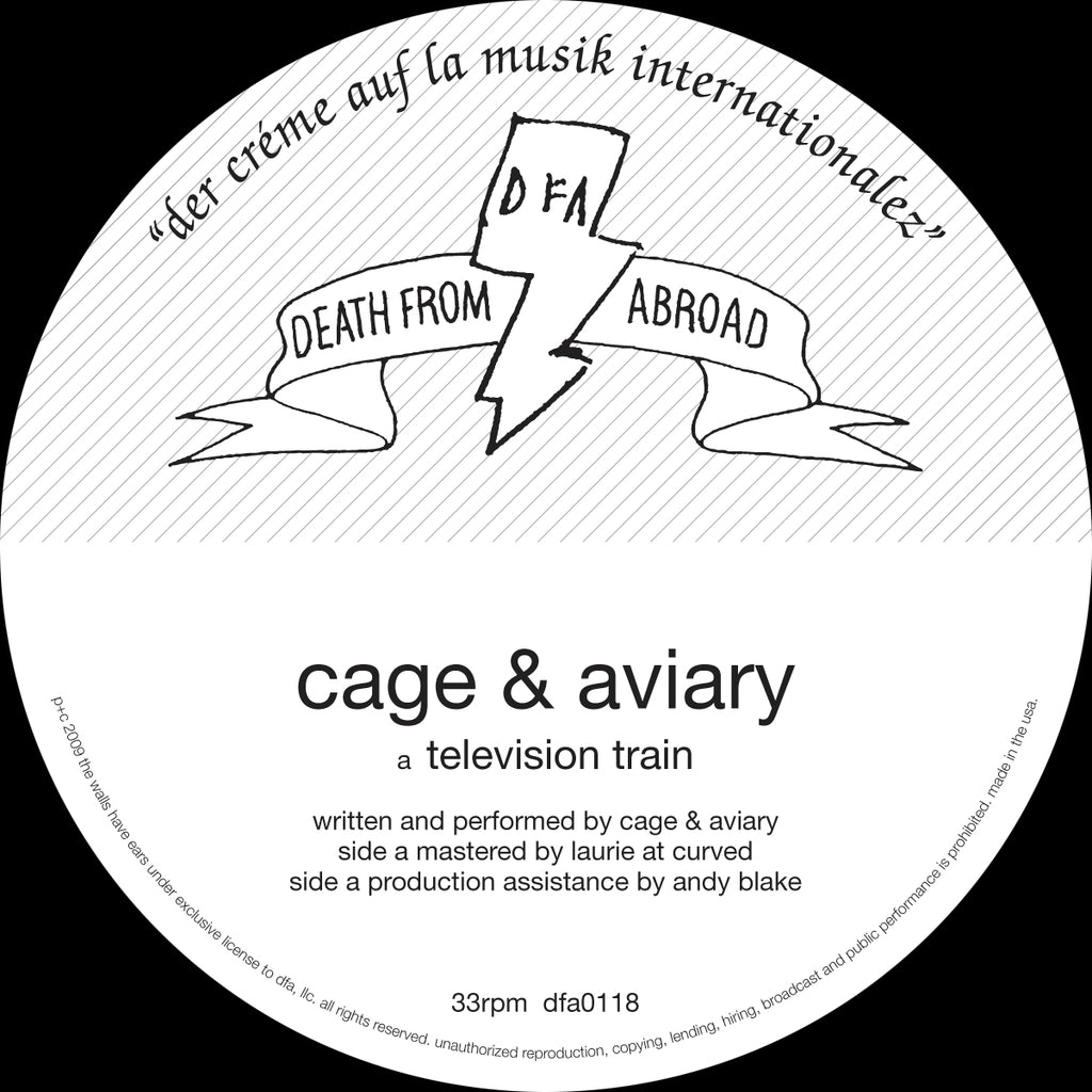 Death From Abroad: Cage & Aviary - Television Train 12""